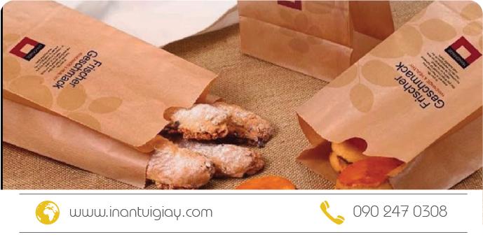 mẫu túi giấy bánh mì giá rẻ