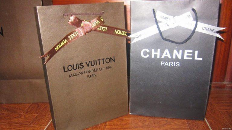 in túi giấy dành cho shop thời trang