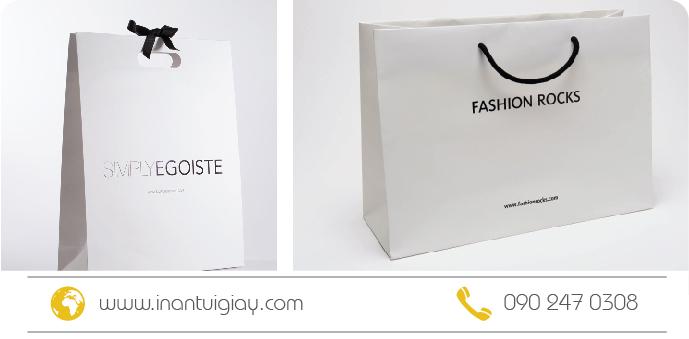 in túi giấy thời trang giá rẻ hcm