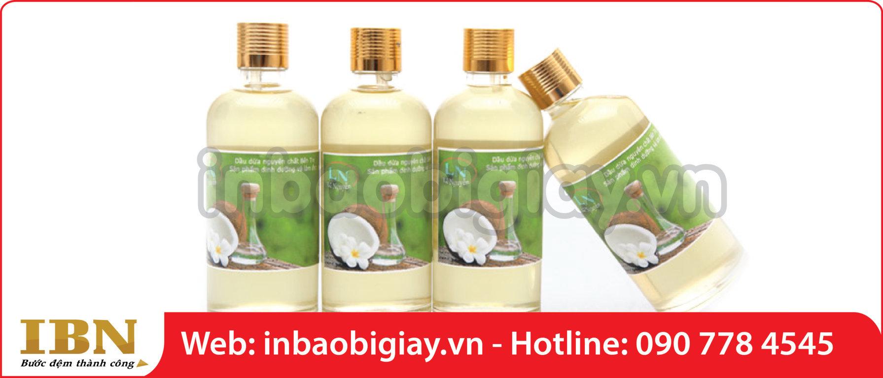 in hộp dầu dừa giá rẻ